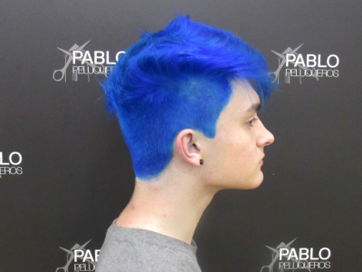Color fantasia hombre - Pablo peluqueros