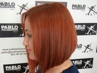 Tinte color - Pablo peluqueros