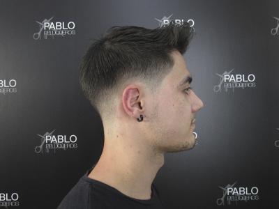 Corte caballero Valencia - Pablo peluqueros