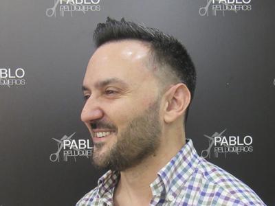 Corte moderno Valencia - Pablo Peluqueros