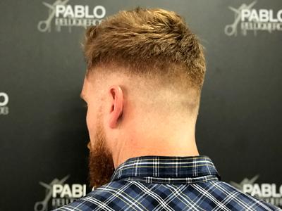 Degradado a capas en Valencia - Pablo peluqueros