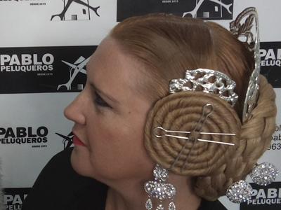 Peinado falleras mayores - Pablo peluqueros