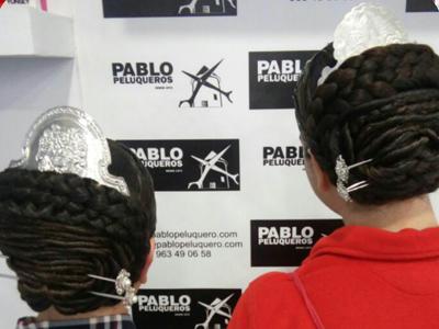 Peinado falleras - Pablo peluqueros