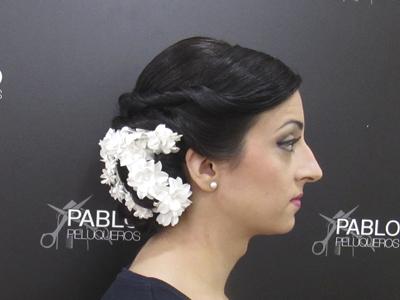 Recogidos para novias en Valencia - Pablo peluqueros