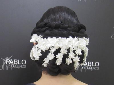 Recogido para novia en Valencia - Pablo peluqueros