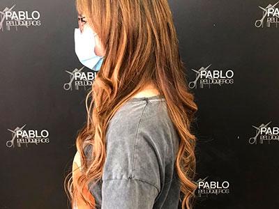 Extensiones para mujer en Pablo Peluqueros Campanar