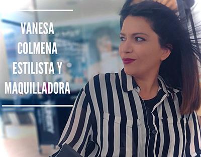 Vanesa Colmena - Estilista - Maquilladora - Pablo Peluqueros